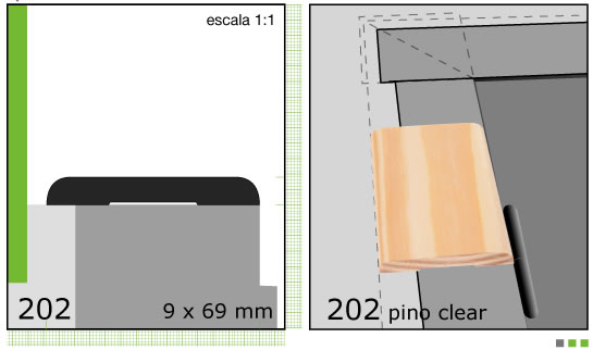 Imagen 04-CLEAR C/MAR.LISO 1/2 TIRA X3 N202