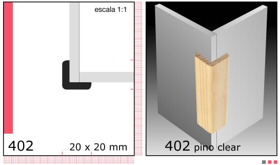 Imagen CLEAR ESQUINERO X TIRA/1.1/2X1.1/2 N402