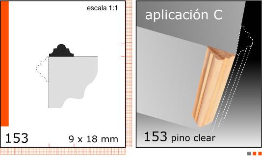 Imagen CLEAR TERMINACION X TIRA/1/2X3/4 N153