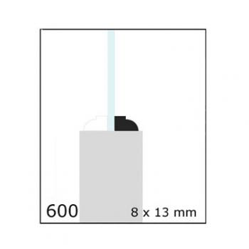 04-CLEAR CONTRAVIDRIO 1/2X3/4 N600