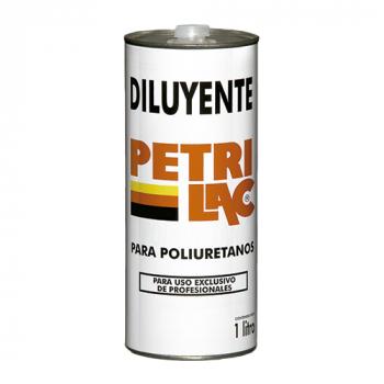 10-DILUYENTE P/POLIURETANO 1 LT PETRILAC