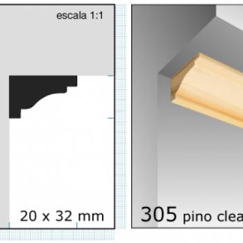 CLEAR RINCONERO/1X1.1/2 N305