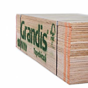 TERCIADO FENOLICO GRANDIS 122X244 COR 24MM CALIDAD 4/4