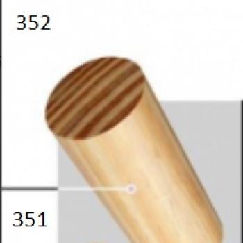 BARRAL LISO 30 MM DE DIAMETRO N351