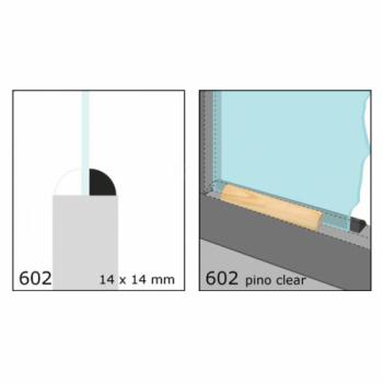04-CLEAR CONTRAVIDRIO 3/4X3/4 N602