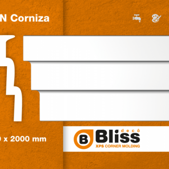MOLD TEL CORNISA/25X90X2000 BR-90/BLISS