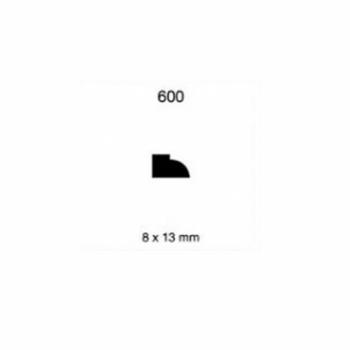 CLEAR CONTRAVIDRIO/1/2X3/4 N600