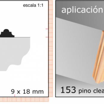 CLEAR TERMINACION X TIRA/1/2X3/4 N153