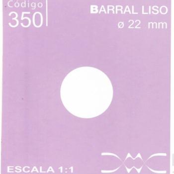 BARRAL LISO 20 MM DE DIAMETRO N350