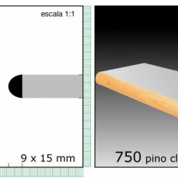 CLEAR TAPACANTO X TIRA/1/2X3/4 N750