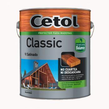 CETOL LACA/CRISTAL 4 LT/SATINADO