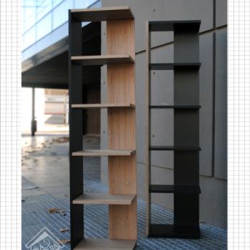BIBLIOTECA 1600X400X260 C/EST.350X260 V.COLORES