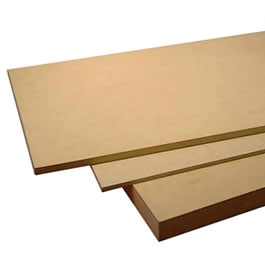 MDF FIBRO FACIL 1.83X3.66MTS 25 MM