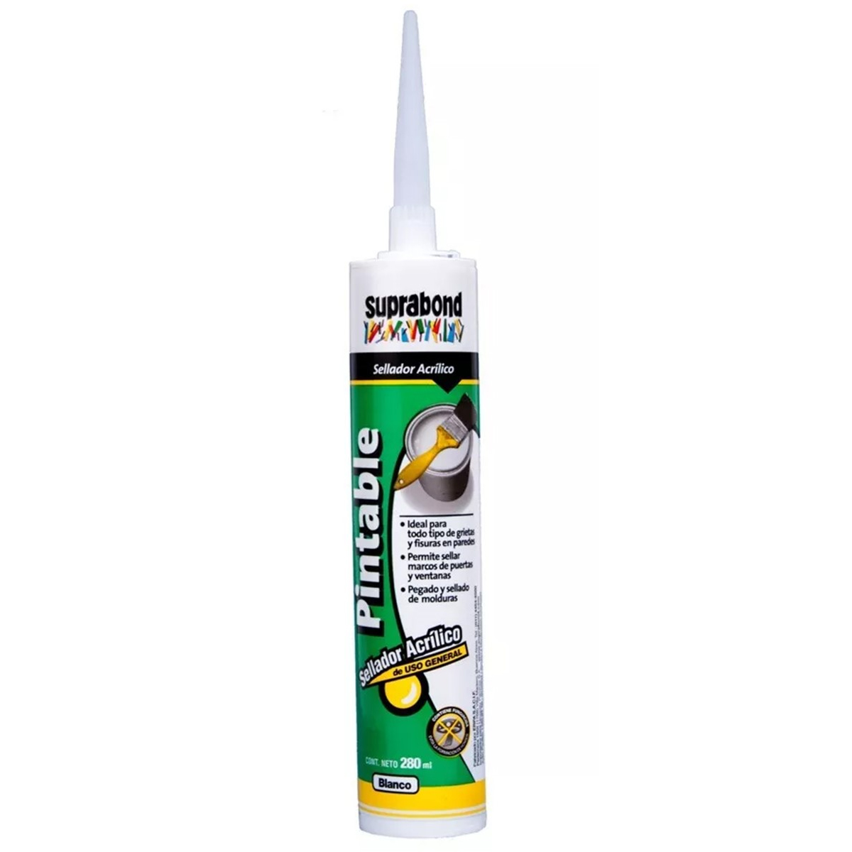 SELLADOR ACRILICO PINTABLE 280 ML SUPRABOND