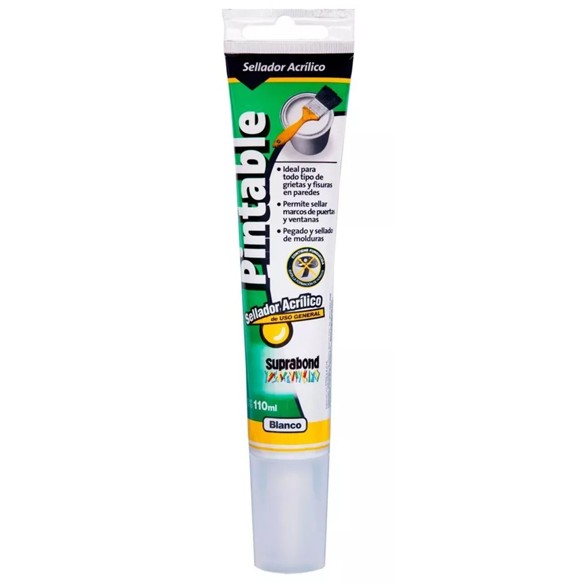 SELLADOR ACRILICO PINTABLE 110 ML SUPRABOND