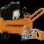 Imagen COMPRESOR AIRE LC-2550BK 2.5HP 50L CON KIT AA-5000K LUSQTOFF